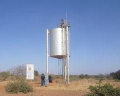 Wasserhochbehälter Piela Süd im Jahr 2012