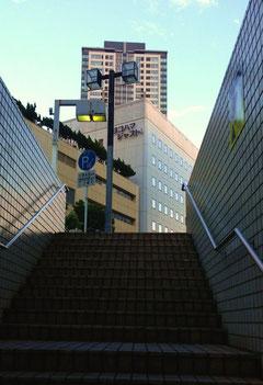 横浜駅 地上へ