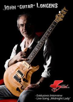 "John ""Guitar"" Longens mit Cortado"