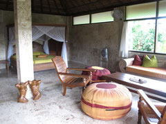 Camera da letto della Villa a Guci Guesthouse in Ubud (Photo by Gabriele Ferrando)