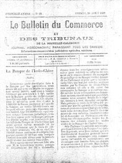 Le Bulletin du commerce et des Tribunaux ...