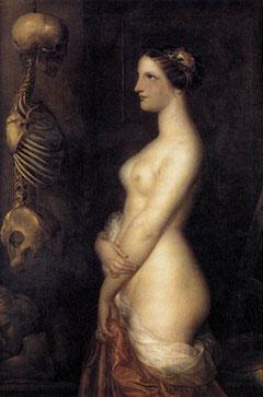 La belle Rosine, Antoine Wiertz