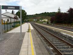 Sarria Hauptbahnhof (Nordwest-Spanien)