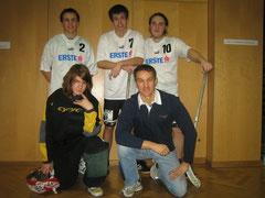 5. Platz beim Floorball Schulcup 2009