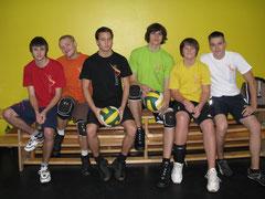 Volleyballteam Oberstufe
