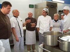 les cuisiniers avec Philippe Bosser