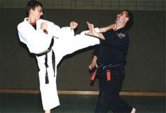 Sabine und Isidro 1999
