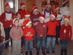 Die Pöschendorfer Weihnachtskinder