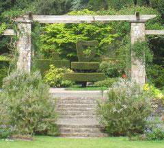 Topiary harp, Shamrock Garden, Mount Stewart