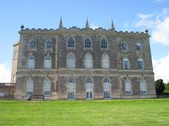Gothic facade, Castle Ward