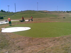 Bunkers en Cesped Artificial
