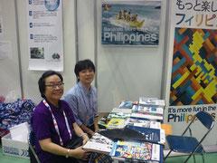 JATA旅博2013(クラークフィリピン留学院)ブース