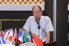 次期教育委員長及び大会委員長                                                                        L.重綱 博美