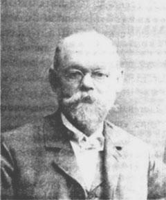 Gustav Hesse um 1905