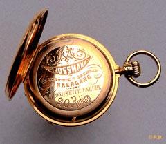 Eine Chronometer-Unruh allein, macht noch kein Chronometer