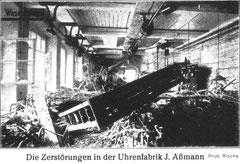 """Der Maschinensaal der Rohwerkeabteilung der """"J. Assmann G.m.b.H."""""""