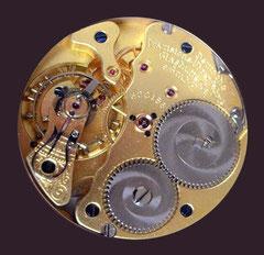 Werkansicht einer vergleichbaren Uhr