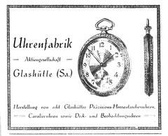 Werbung der UFAG im Saxonia Heft 1928