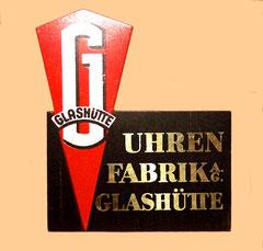 Original Werbeaufsteller der UFAG