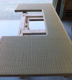 変形畳 手縫い制作
