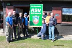 von links: Heinz-Joachim Merten, Thomas Rose, Nils Leifert, Sven Bäse, Till Anding, Wolfgang Adena, Hans-Hermann Meyer und Garvin Jäger