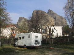 Le Manouche en Grèce (Les météores)