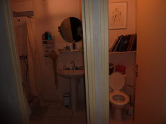 Salle d'eau et  WC du rez de chaussée