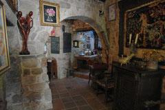 Der Eingang zum «Grand Gîte» beziehungsweise zum «Grand Mas »