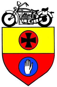 Das Logo des MC-Hall mit dem Schwäbisch Haller Stadtwappen