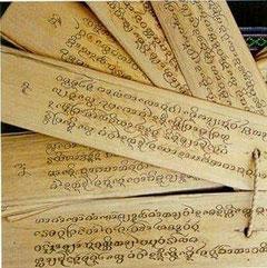 Der Pali-Kanon ist die Sammlung der Lehre des Buddha.