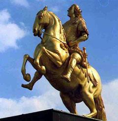 Standbeeld August der Starke
