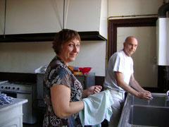 Dédée et Dédé, brocante 2008