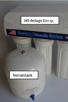 Umkehrosmoseanlage E21-5c