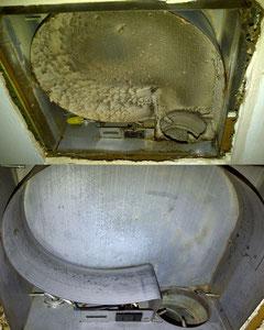 Nettoyage nettoyage de conduits dans les hautes - Ventilateur salle de bain sans sortie ...
