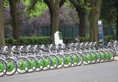 Noleggio biciclette a Villa Borghese