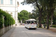 Trenino a Villa Borghese