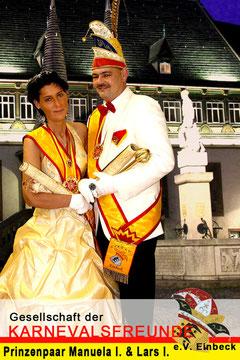 Manuela I. & Lars I.     Prinzessin  Manuela Giersig  Prinz Lars Lachstädter