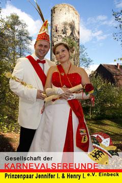 Das neue Prinzenpaar 2013/2014