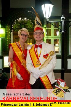 Das neue Prinzenpaar  2012 / 2013
