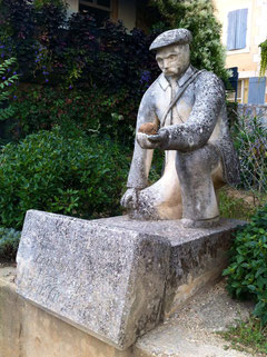 Joseph Talon, der Begründer der Trufficulture, St. Saturnin les Apt, Provence © Foto: Jaedicke 2013