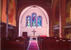 Altarraum 2005