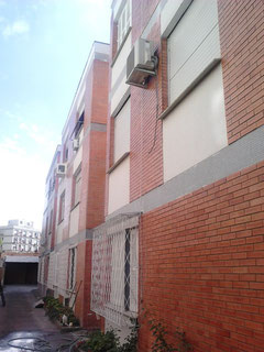 Recuperação de fachada de tijolos à vista