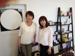 MAMEW代表 横山恵子先生と♪