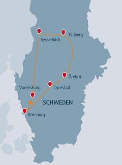 Mit der ganzen Familie durch Schweden reisen