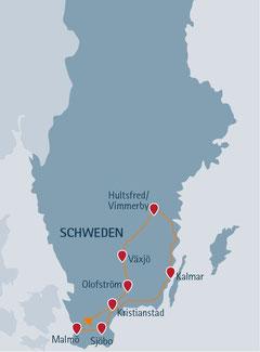 Auf den Spuren von Pippi Langstrumpf durch Schweden reisen