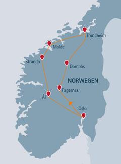 Norwegen-Urlaub im Ferienhaus