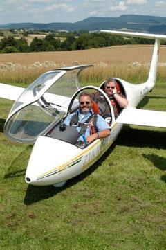 Der ELV freut sich auch über ältere Flugschüler