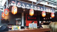 ロッテルダム駅前にあるモールにあった日本料理店