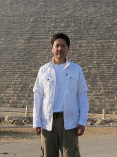 2013年春分 クフ王のピラミッド貸切ワークにて