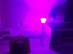 Lora : lampe et antenne